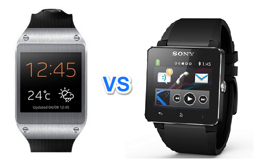 GALAXY GEAR VS SmartWatch 2 SW2